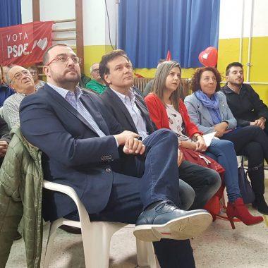 Encuentro con militantes y simpatizantes socialistas en Valdés