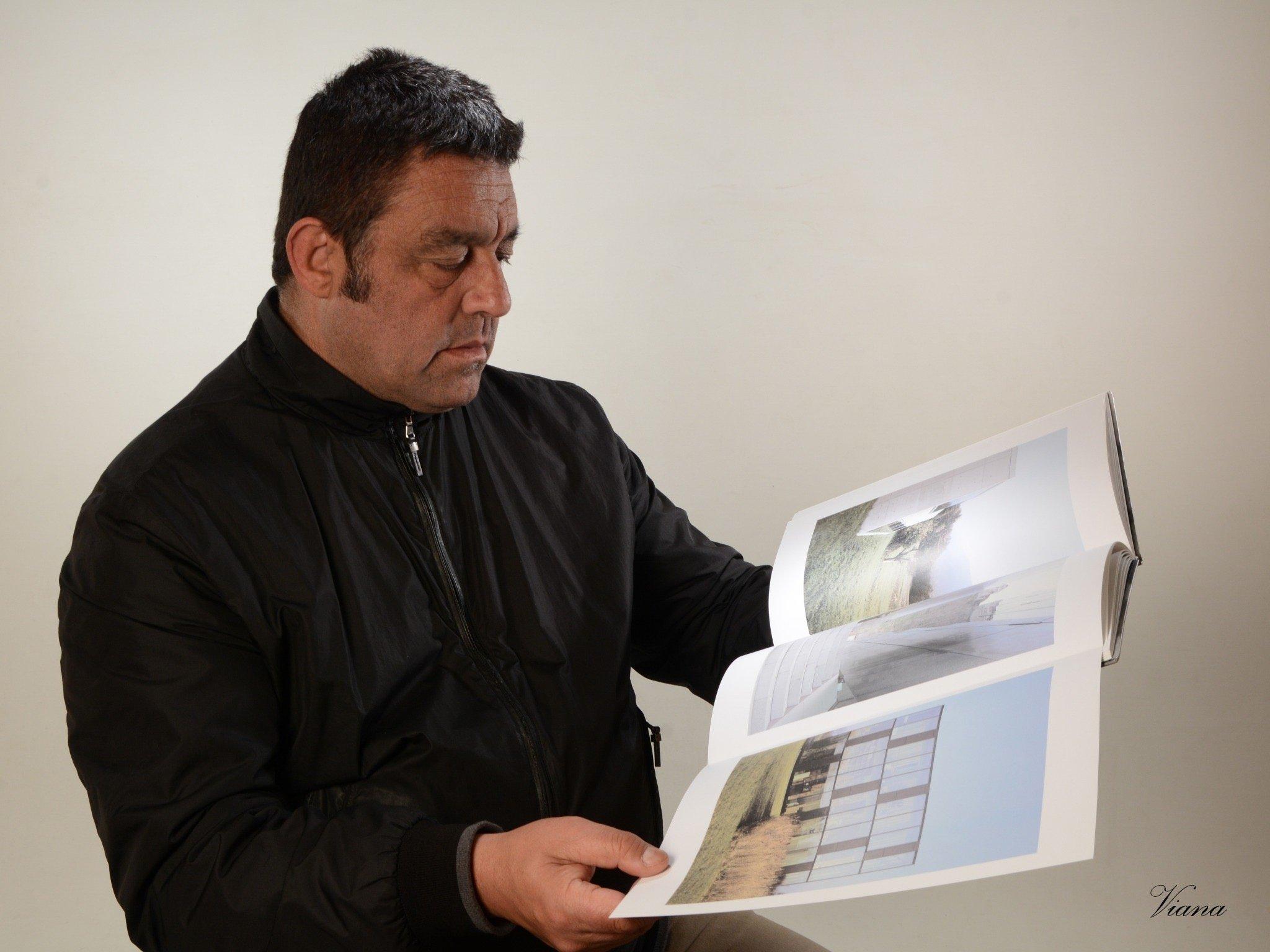 José Ignacio Martínez ultima un libro sobre pueblos y rincones del concejo de Navia