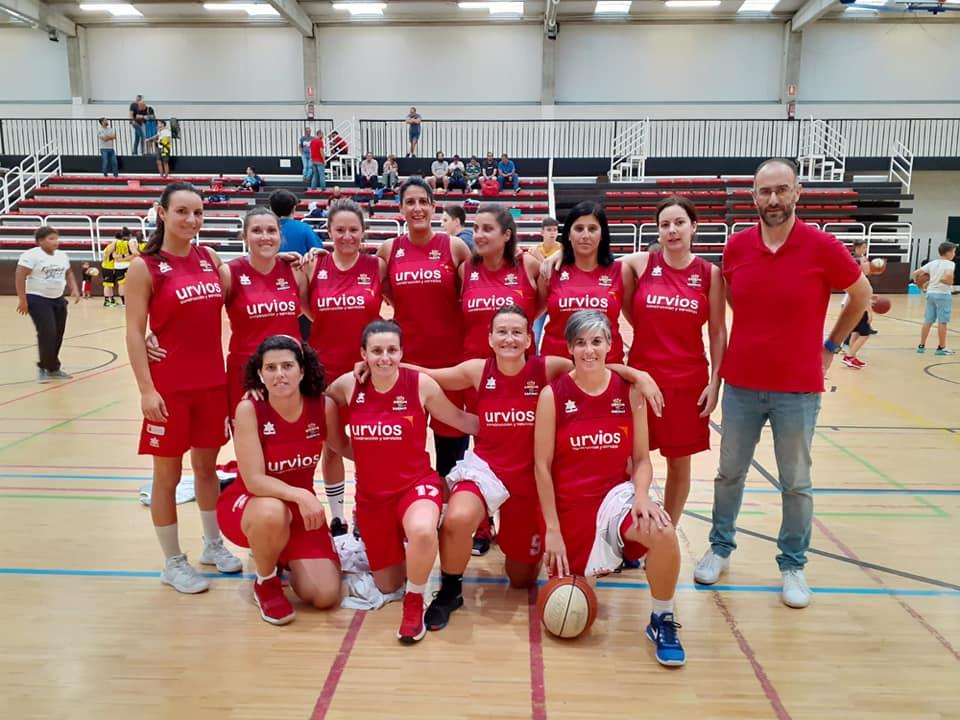 Inicio de Liga para los equipos de madres y padres del CB Marchica