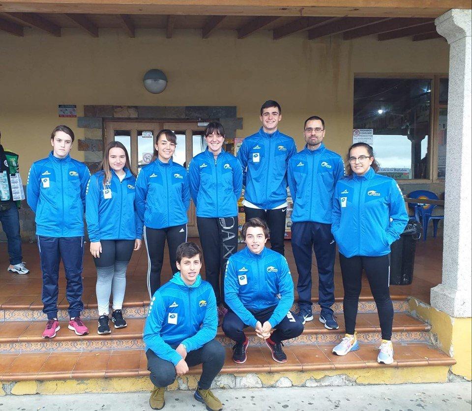 Lucia Val (Club Albiones), participó en la Concentración Nacional de Cadetes de la Federación Española de Piragüismo