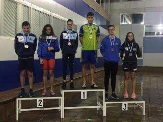 Oro y Plata para el Club Natación Villa de Navia en el VII Trofeo de Todos los Santos de Avilés