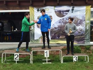 Dos Oros y Dos Bronces para la Escuela del Club Atletismo Occidente en el Cross de Tineo