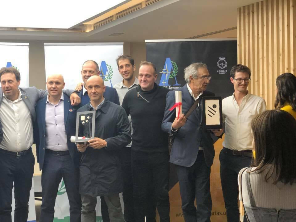 Entrega de los X Premios COLEF Asturias