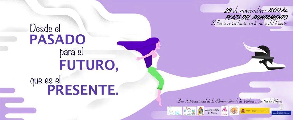 Navia conmemora el Día contra la Violencia de Género el 29 de noviembre