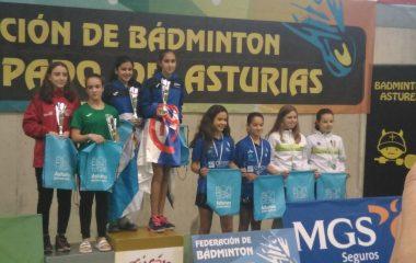 El Club Bádminton Vegadeo se desplaza al Torneo Villa de Laviana