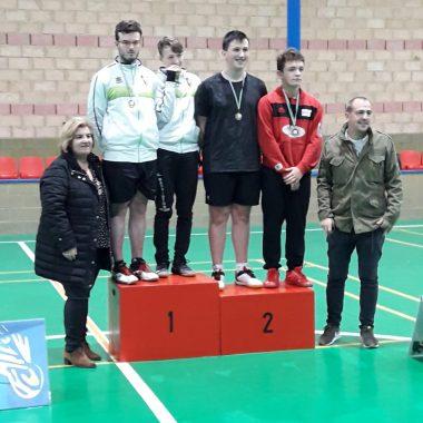 Seis Medallas para el Club Bádminton Vegadeo en el Torneo de Riosa