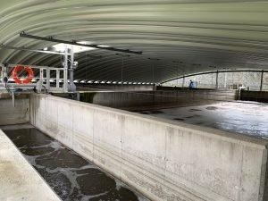 El saneamiento de Navia, a pleno rendimiento