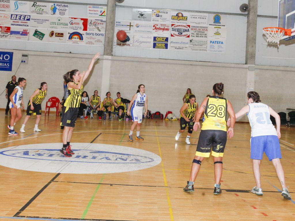 El CB Vegadeo Femenino vence a Pumarín (44-19)