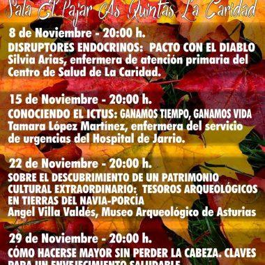 IV Charlas d' Outono de la Asociación Cultural Arcángel San Miguel (El Franco)