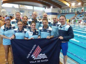Fin de Semana de mucha actividad para el Club Natación Villa de Navia