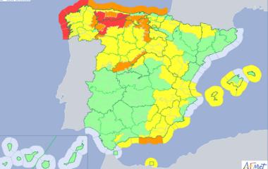 Delegación del Gobierno activa el nivel de preemergencia en las carreteras entre Asturias y León ante la previsión de nieve