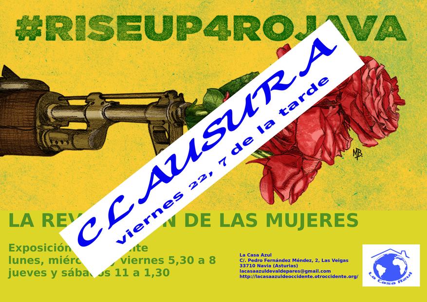 """Clausura de la Exposición """"La Revolución de las Mujeres"""" organizada por la Casa Azul"""
