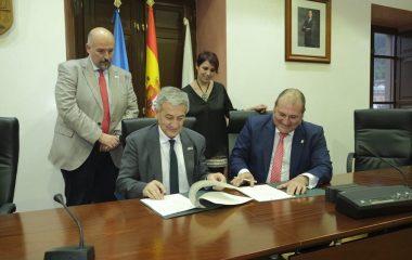 Convenio de colaboración entre Universidad de Oviedo y ayuntamiento de Vegadeo