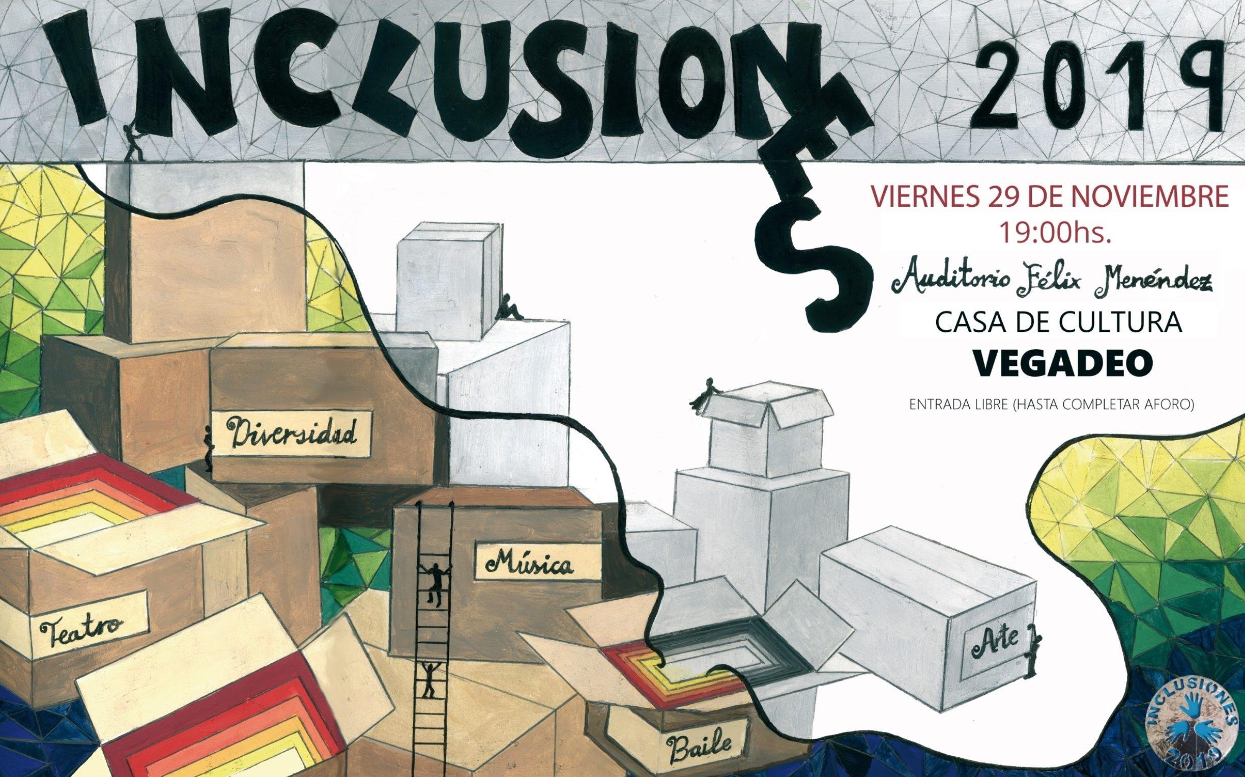Inclusiones 19 El Baile, este viernes, a las 19 horas, en el Auditorio de la Casa de Cultura de Vegadeo