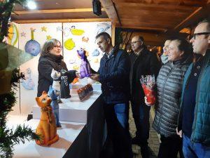 Inaugurado el XVI Mercado do Nadal y la iluminación navideña de Ribadeo