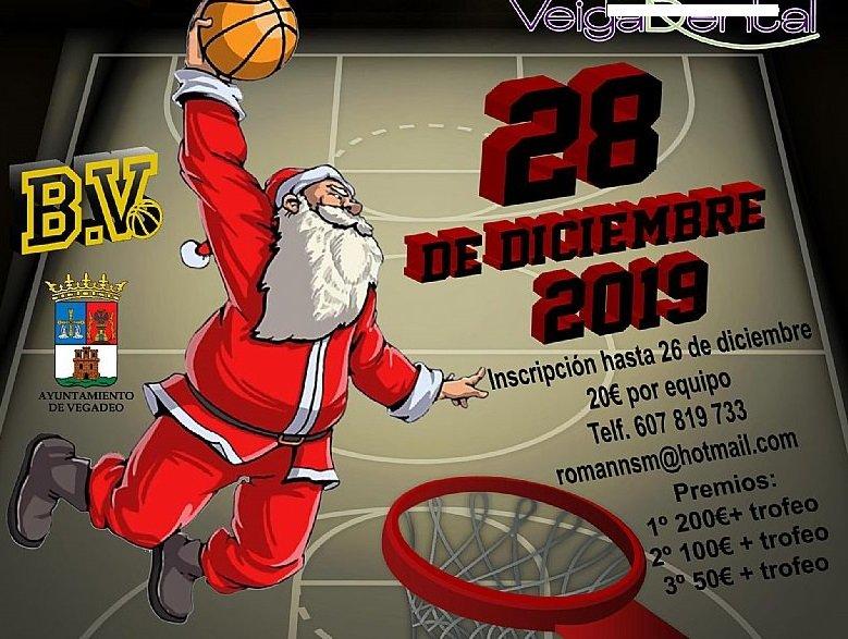 Continúan abiertas las inscripciones para el 3x3 Navideño de Basket Vegadeo 2019