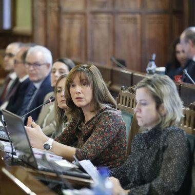 La consejera de Hacienda reitera la necesidad de Asturias de tener Presupuestos en 2020