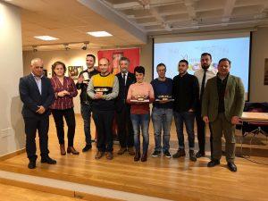 Entrega de premios del XI Concurso de Pinchos y Tapas de Autor de Navia