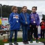 Cuatro Medallas (Dos Oros y Dos Platas), para el Club Albiones en la V Travesía del Bajo Nalón