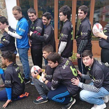 El Beone trabaja en el debut de su equipo de Rugby Inclusivo en Competición