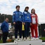 Noelia Suárez (Club Albiones), Subcampeona de Asturias Cadete de Piragüa-Cross