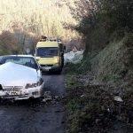 Herido un conductor en Brieves (Valdés)