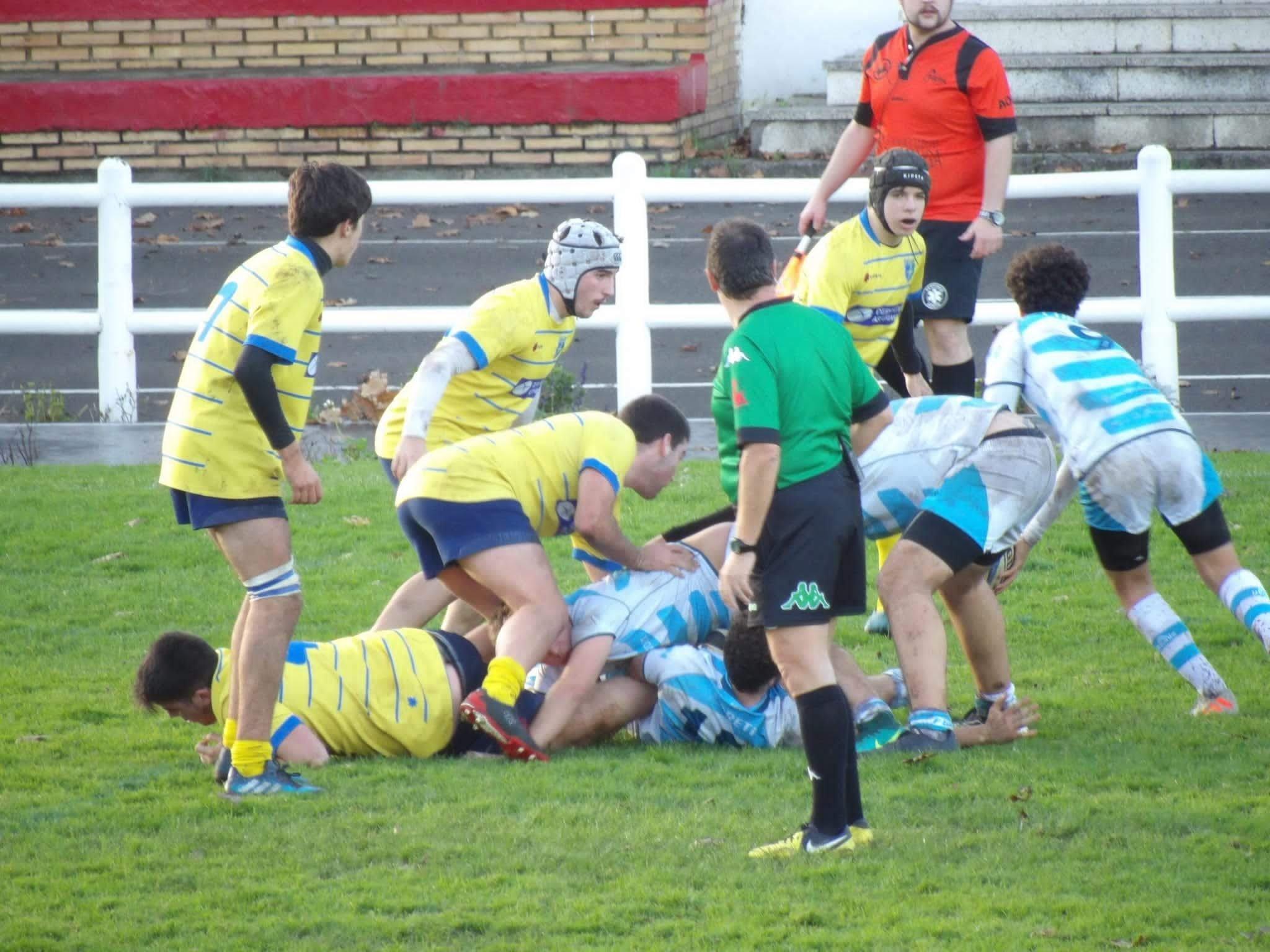 Daniel Rosales del Beone Tapia Rugby disputó el Campeonato de España frente a Galicia