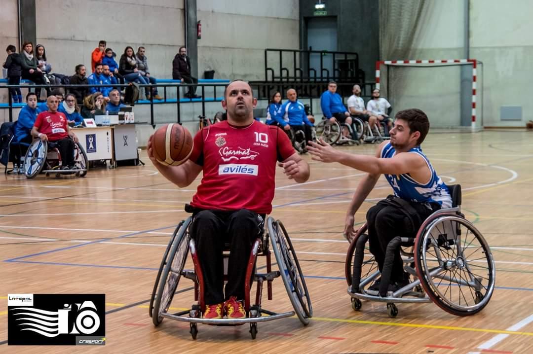 El Garmat Avilés Basket Silla de Ruedas, clasificado para la fase de Ascenso a Primera División