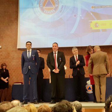 Dos luarqueses distinguidos con la Medalla al Mérito de Protección Civil 2019