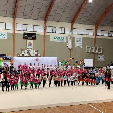 Festival de Navidad del Club Recta Final Gimnasia Rítmica