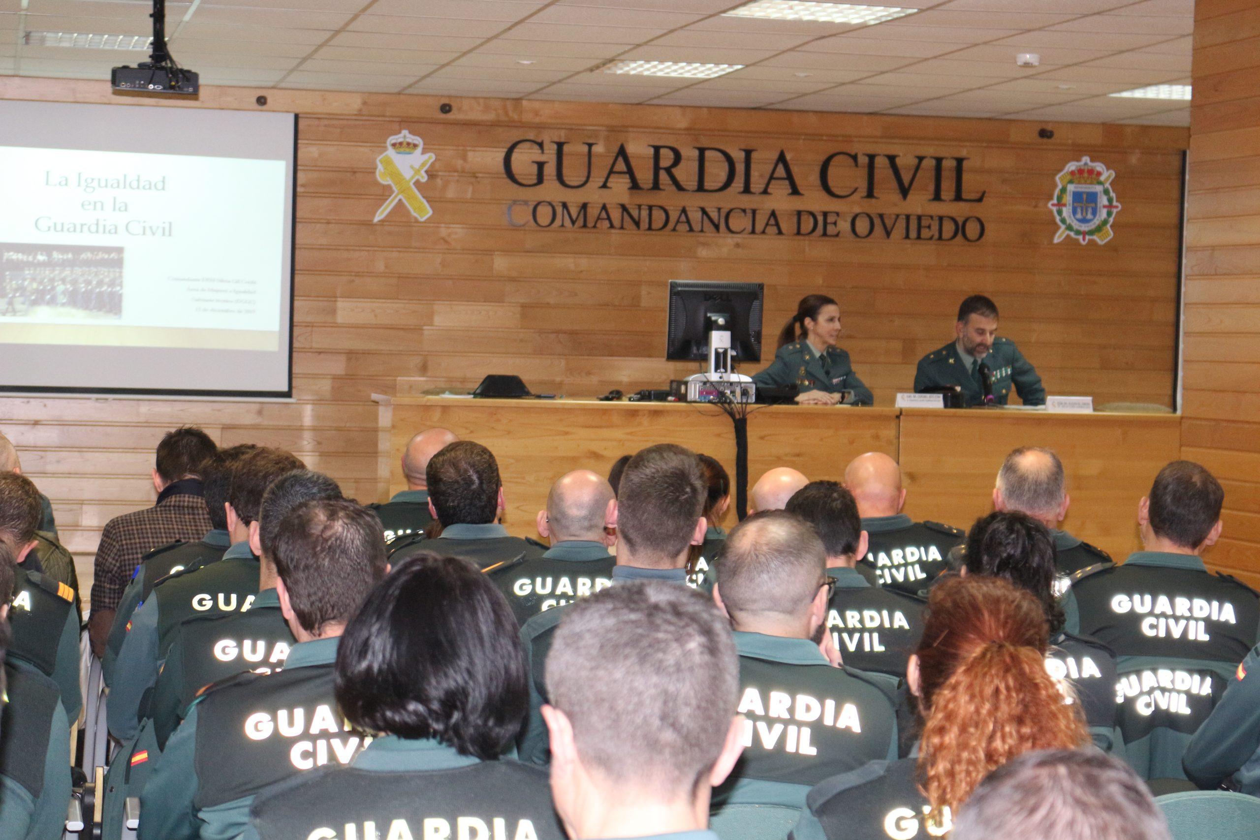 La Guardia Civil organiza una Jornada de Igualdad