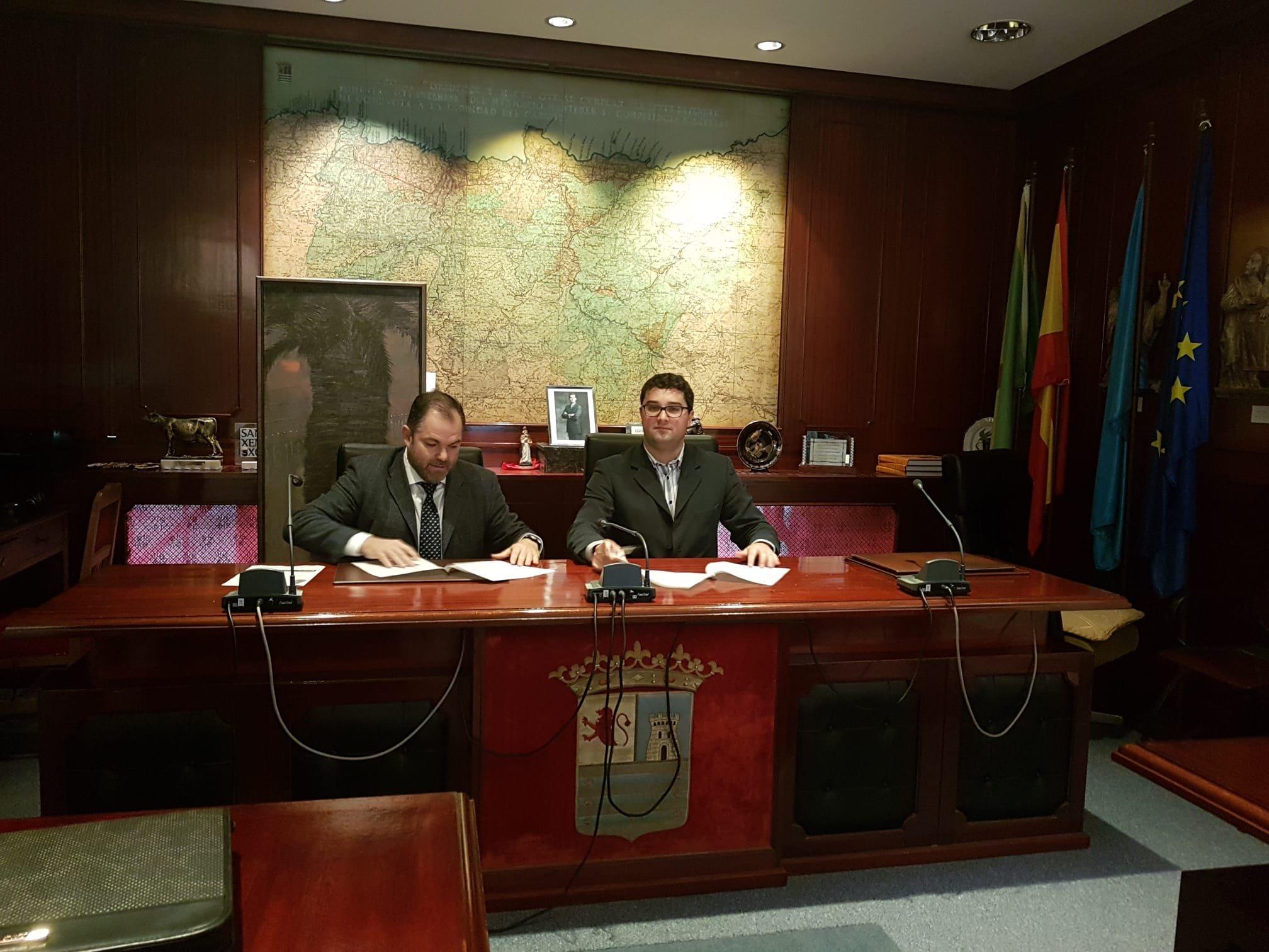 Ayuntamiento de Valdés y Cámara de Comercio suscriben un convenio para la gestión y dinamización del Centro Municipal de Empresas
