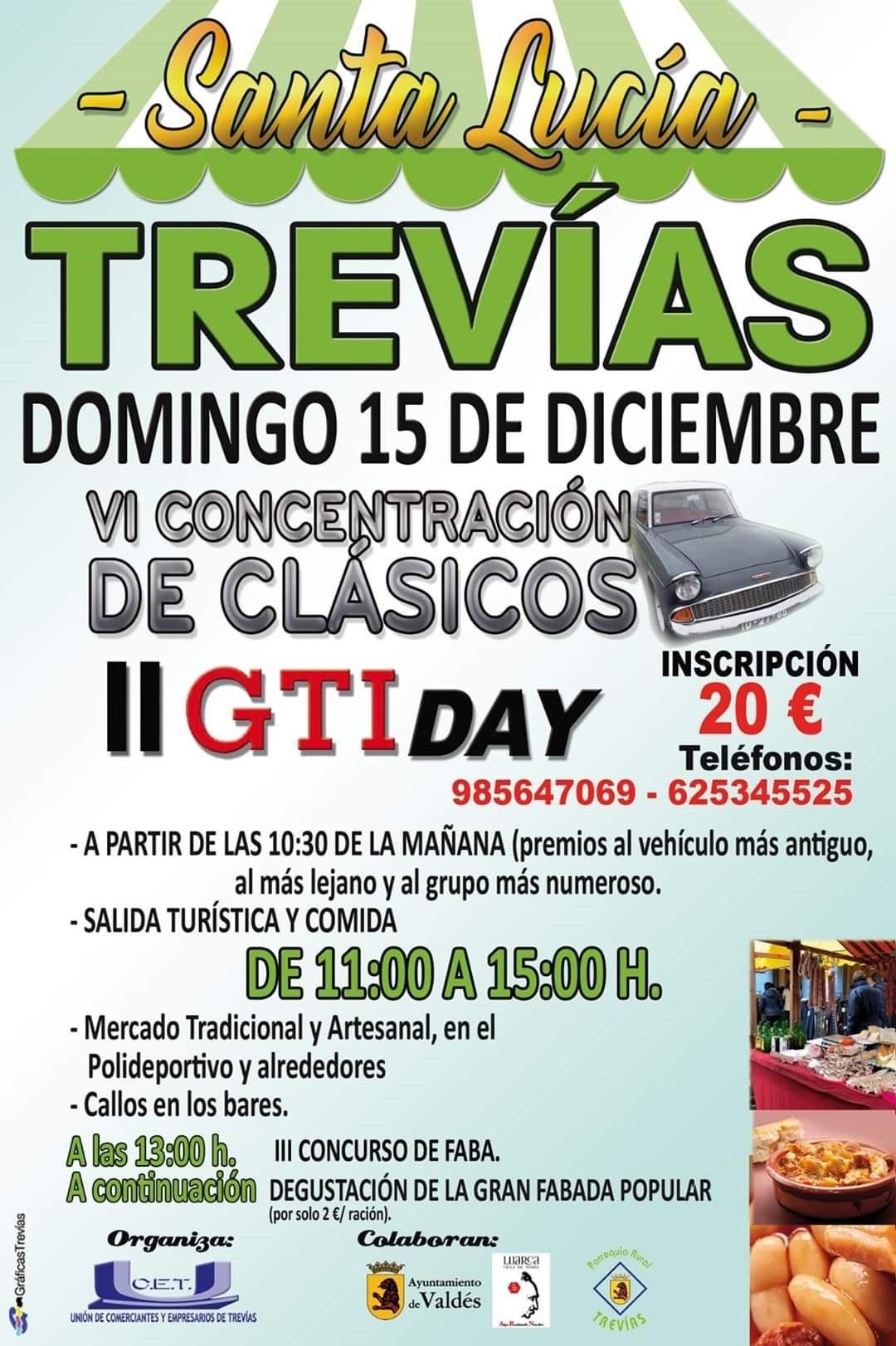 VI Concentración de Coches Clásicos el domingo en Trevías