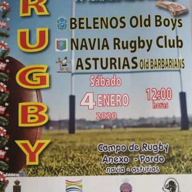 VI Torneo de Año Nuevo de Rugby este sábado en Navia