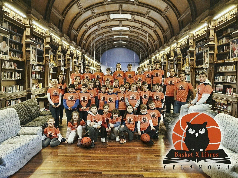 Basket por Libros un Proyecto que sigue Creciendo en el que participan 40 niños-as