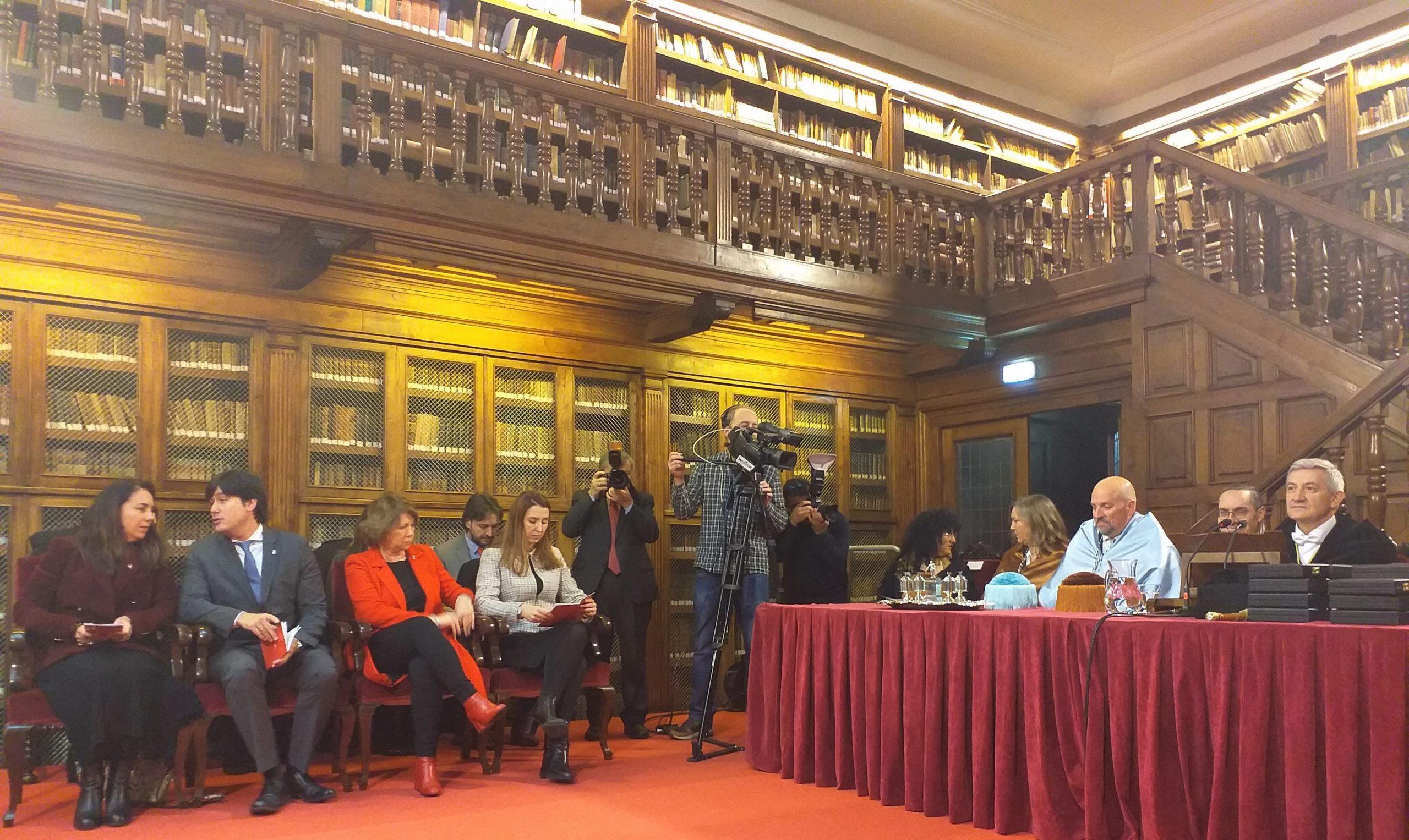El Consejero de Ciencia, Innovación y Universidad asiste al acto académico del día de Santo Tomás de Aquino