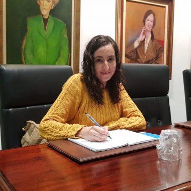 Andrea Nogueira, ahora concejala no adscrita en el ayuntamiento de Valdés