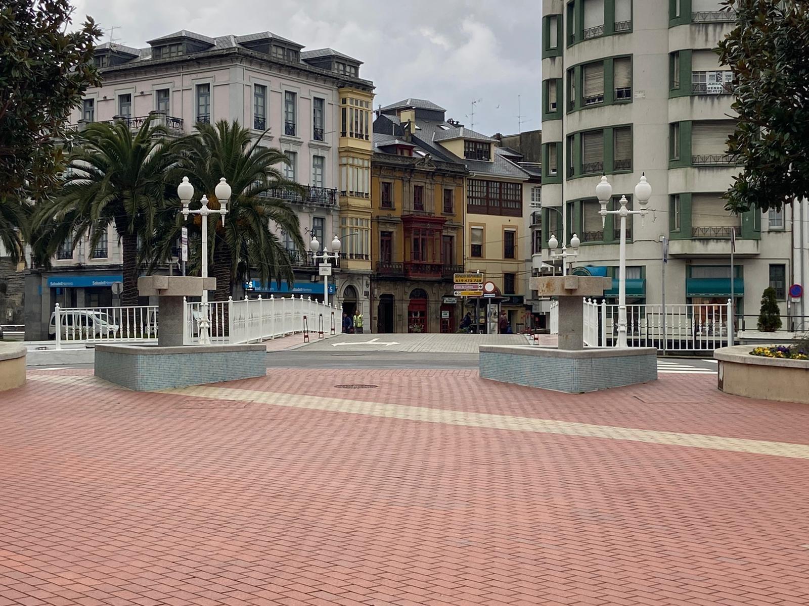 Valdés desmontará las dos fuentes ubicadas en la Plaza Alfonso X El Sabio