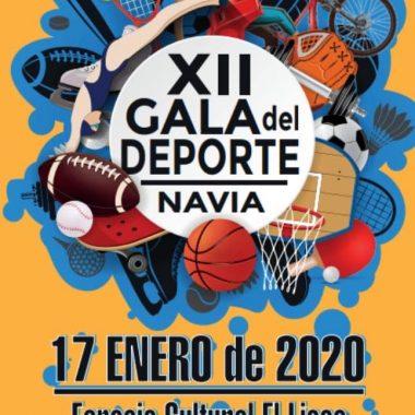 Navia celebrará su XII Gala del Deporte el próximo viernes 17 de Enero
