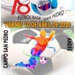 El Andés celebrará su Torneo de Fútbol Base San Pedro el 10 de Abril (Viernes Santo)