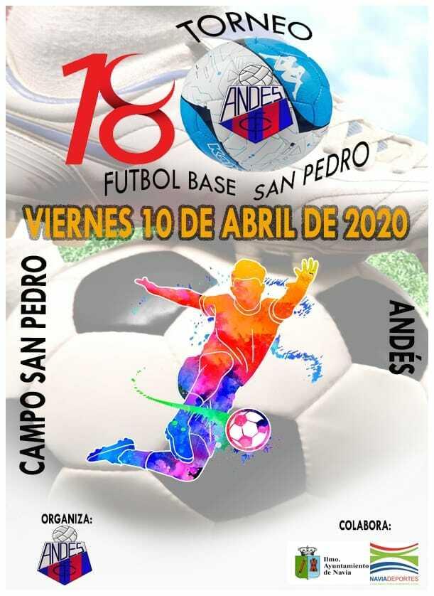 El Andés también pospone su 18º Torneo de Fútbol Base previsto para el 10 de Abril