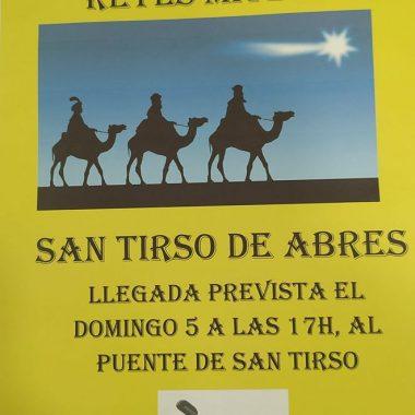 San Tirso de Abres recupera la Cabalgata de Reyes