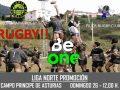 El Beone Tapia Rugby juega de nuevo en el Principe de Asturias ante el Pilier Grado