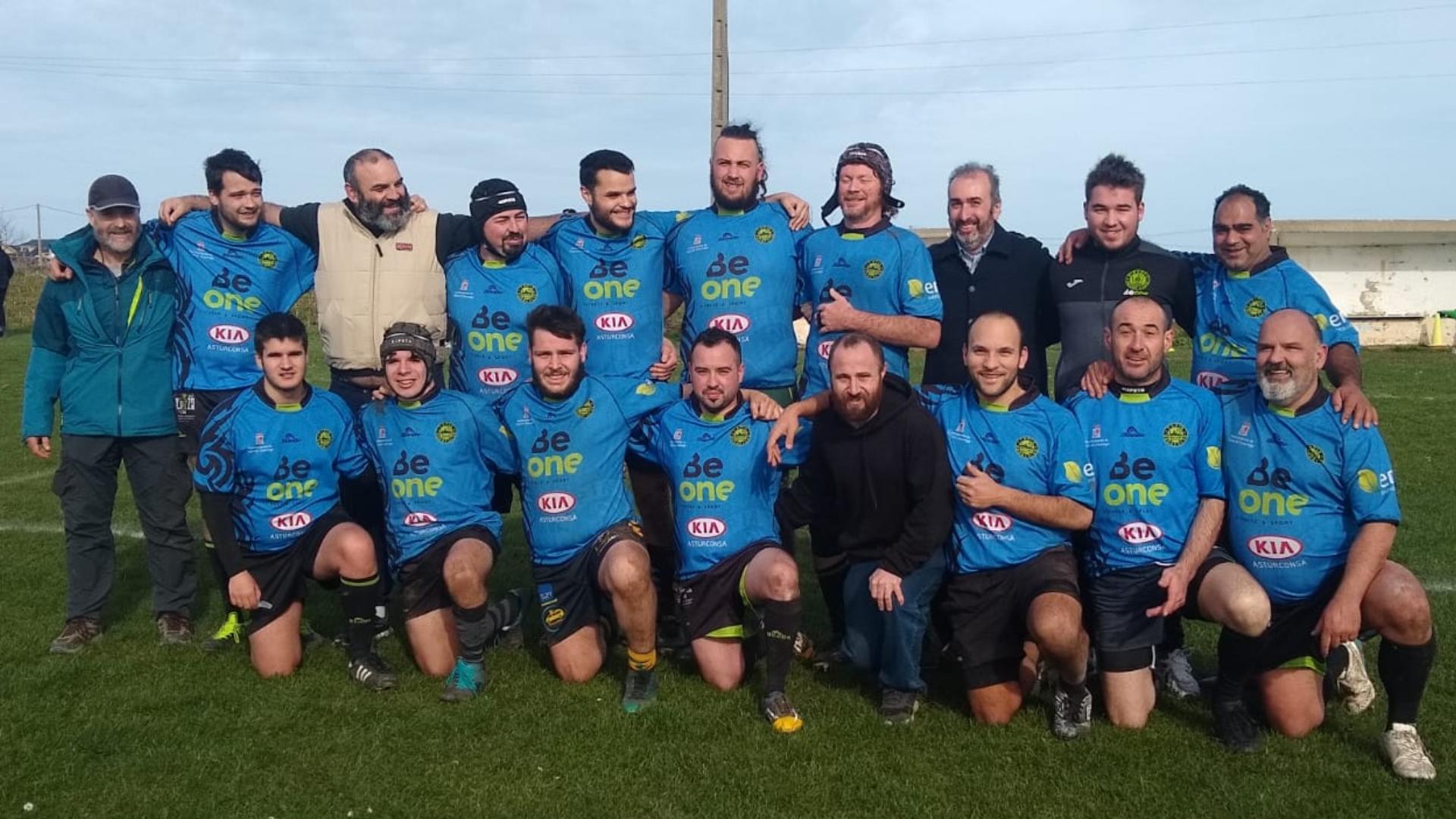 El Beone Rugby Cierra la 1ª Vuelta de la Liga Gallega Sub-16 y partido de los Sub-18/Senior en Tapia