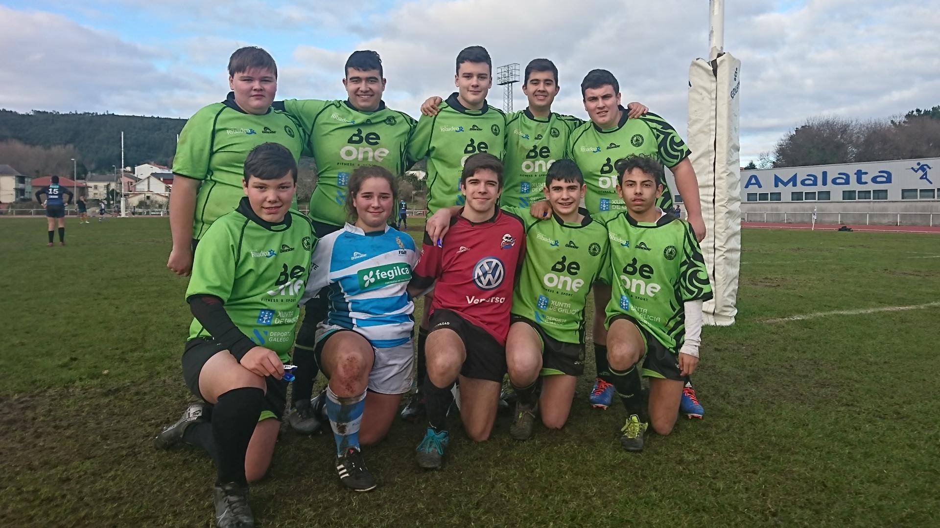 Tras el Torneo de Reyes de Ferrol el Beone Rugby se centra en el Derbi frente al Muralla de Lugo