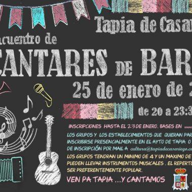 II Edición de Cantares de Barra en Tapia de Casariego