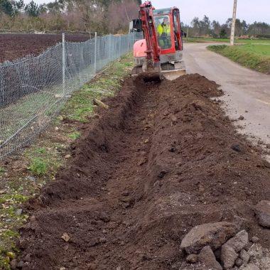 Continúan las obras del Plan de Inversión Rural de Valdés
