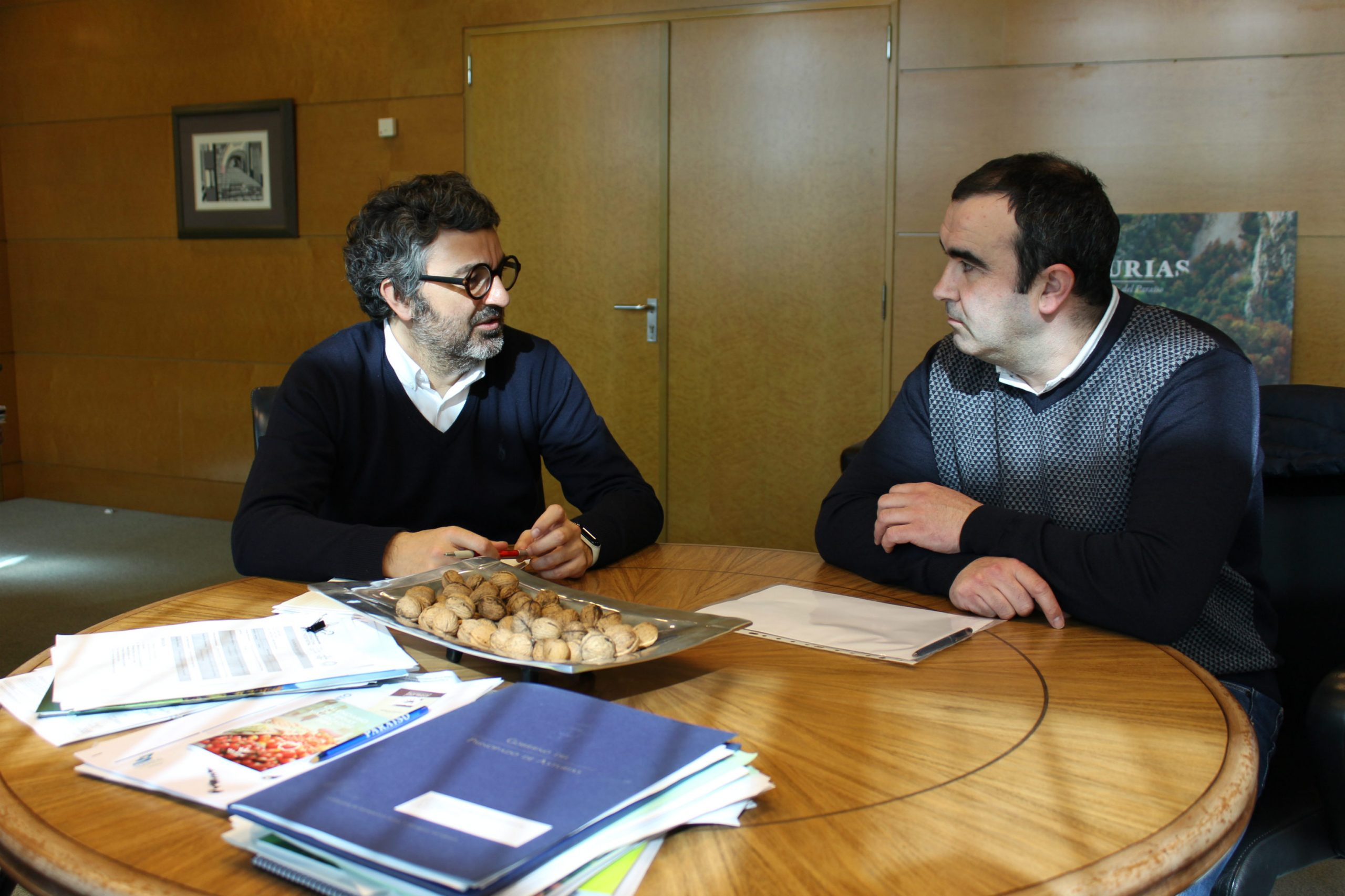 Santa Eulalia de Oscos solicita colaboración del Principado para el arreglo de varias pistas