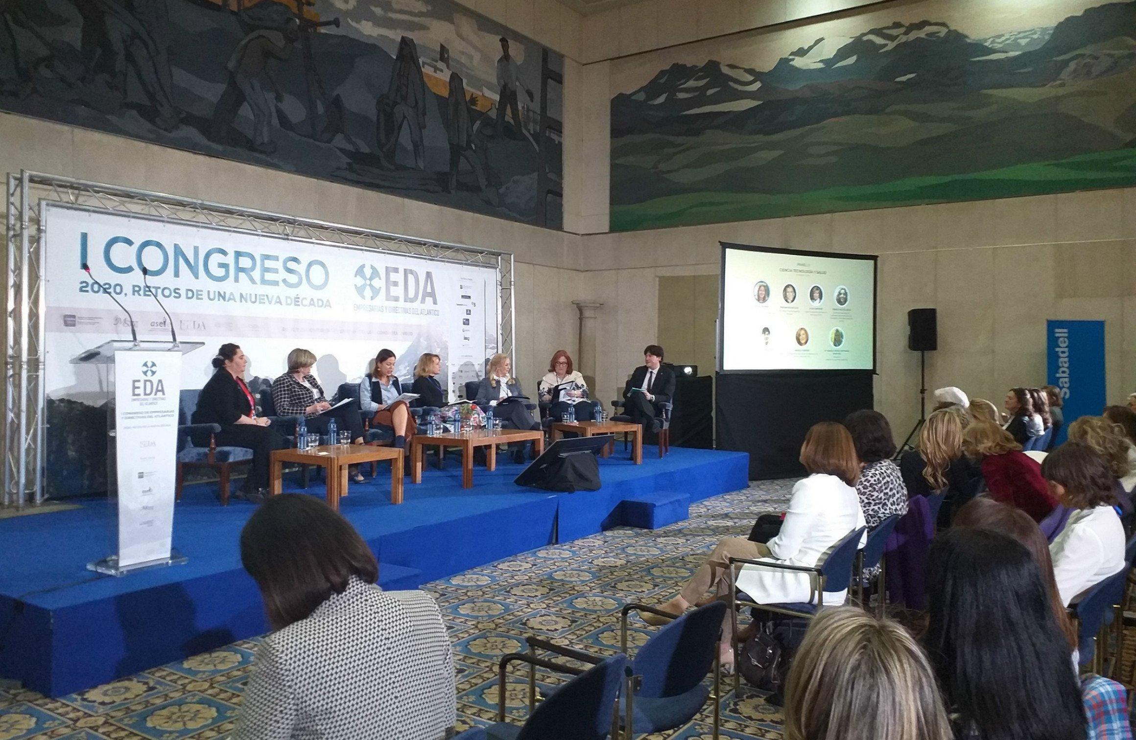 I Congreso de Empresarias y Directivas del Atlántico que se celebra en Oviedo