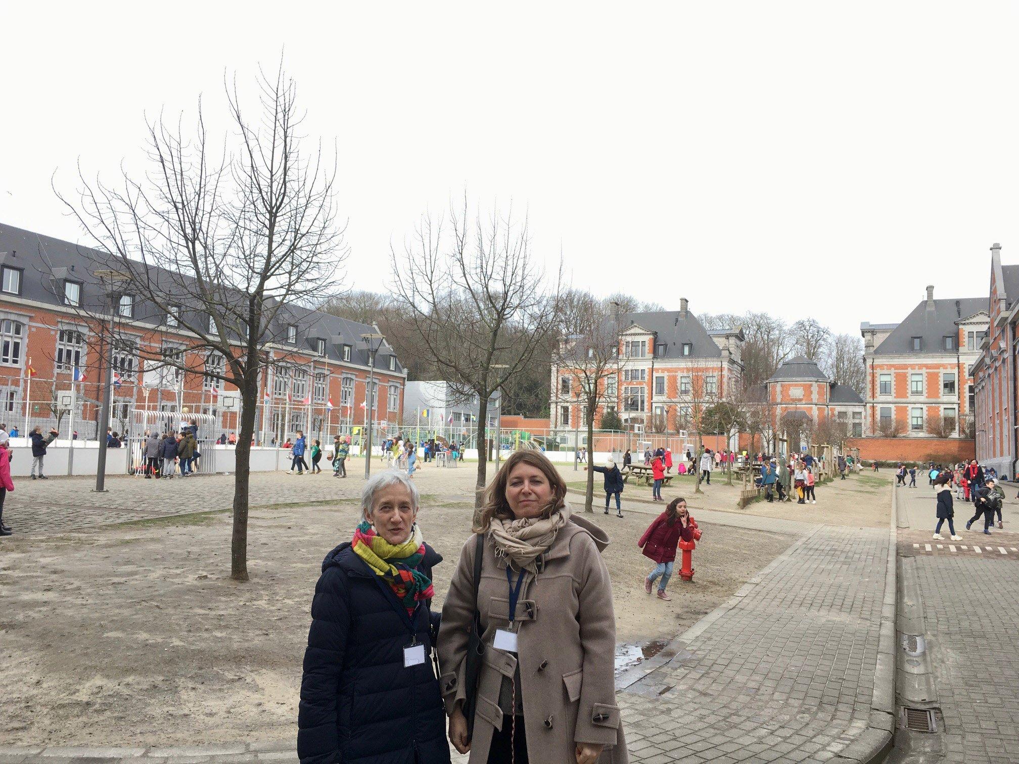 Reunión de la Consejera de Educación en Bruselas con la Embajadora de España en Bélgica